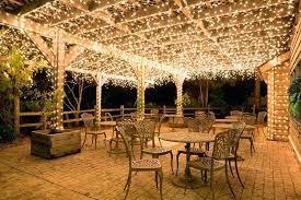 backyard lighting ideas how to hang outdoor string lights on brick best way