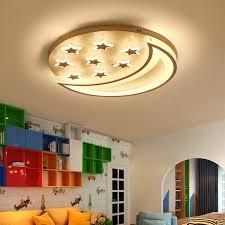 nursery ceiling lighting. Star And Moon Children Kids Room Bedroom Living Ceiling Lights Home Deco Modern Led Nursery Lighting G