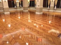 6 vinyl floor stripped cleaned sealed in restaurant