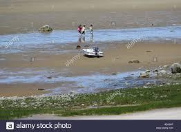 Skaket Beach Orleans Ma Tide Chart Low Tide At Skaket Beach On Cape Cod Stock Photo 129653007