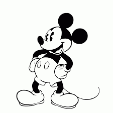 Lining diagram of mickey mouse dr shields39 class honors physics 4th rh bestdrawing99 mickey mouse