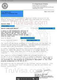 Clearance Certificate Sample Validity Of Fbi Clearance Certificate Am22 Tech