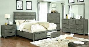 rustic gray bedroom set grey 5 collection finish wood with drawers furniture gray bedroom set rustic