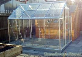 halls popular 6x8 aluminium greenhouse