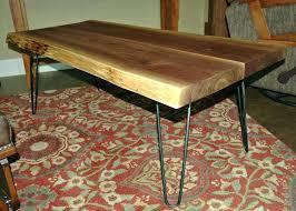 rounded edge coffee table live edge slab coffee table modern live edge coffee table live edge