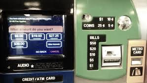 Vending Machine Change Interesting New Button On MetroCard Machines Lets You Buy Rides With No Change