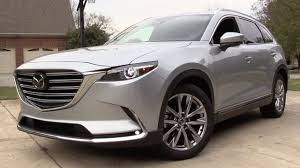 2016 Mazda CX-9 Signature AWD - Road Test & In Depth Review - YouTube