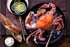 Salt-baked mud crab | Recipe