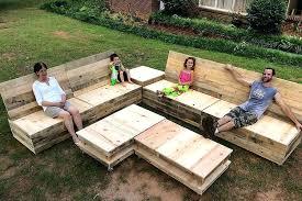 pallets outdoor furniture. Building Pallet Furniture Garden Set Plans For Outdoor . Pallets