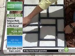 yourself cobblestone look walkway molds