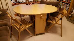 Fold Up Dining Table And Chairs Set