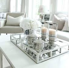 coffee table decor idas dcoratis dcor tray ideas using trays modern country
