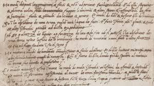 Even A Genius Has To Sell Himself The Resume Of Leonardo Da Vinci Fascinating Leonardo Da Vinci Resume