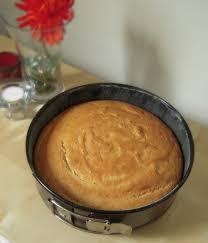 Jyotis Pages Eggless Vanilla Sponge Cake Using Yogurt