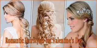 Cute Easy Hairstyles 16 Wonderful Romantic Hairstyles For Valentine's Day Easy To Carry Httpwww