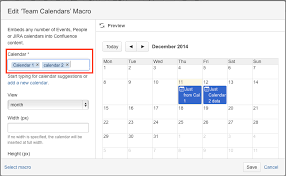 more calendars how to embed multiple calendars in one calendar macro atlassian