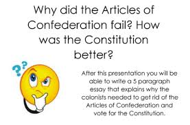articles of confederation picture