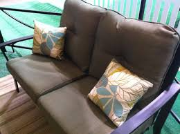canadian tire also had some gorgeous outdoor throw cushions d under 13 each i love this soft teal colour pick up a few pillows to lend a cosy