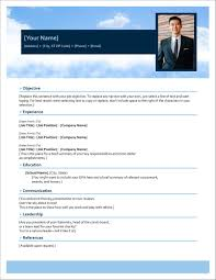 One Page Resume Templates Modern Template Resume Template Docx Modern Resume Templates