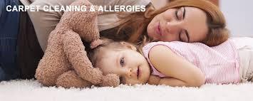 clean carpets allergy prevenation