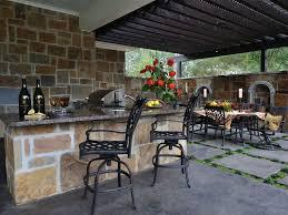 Kitchen  Outdoor Kitchen Roof Ideas Granite Counter Outdoor - Outdoor kitchen designs with pool
