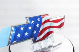 chevy logo with american flag. Modren American Chevy TahoeAvalancheSuburban Bowtie Grill Emblem  20122014 For Logo With American Flag E