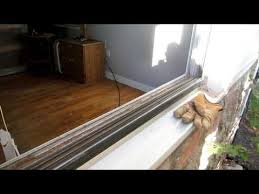 replace aluminum window glass pane and