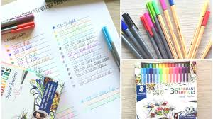 Staedtler Triplus Color Chart Staedtler Triplus Fineliners 36 Pack Review Swatches Comparison Stabilo