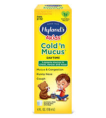 Hyland S 4kids Cold N Cough Nighttime Dosage Chart Mucus Medicine For Kids