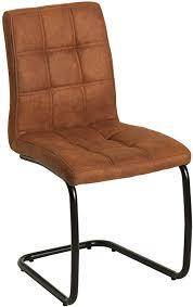 Stuhl eiche best stuhl eiche massiv eichefarben dunkelbraun design. Riess Ambiente De Moderner Freischwinger Stuhl Modena Hellbraun Design Steppung Esszimmerstuhl Stuhl Amazon De Kuche Haushalt