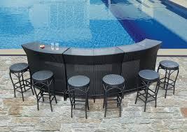 pool bar furniture. image of natural bar set furniture pool