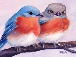 eastern bluebirds fine art print image to see it larger