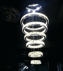 large modern chandelier lighting. Large Contemporary Chandelier And Modern Crystal Circle 6 Rings Suspension Lamp Lighting Fixture