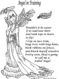 Small Picture Christmas Angels Coloring Page Coloring Coloring Pages