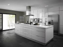 white kitchen cabinets with granite countertops narrow two tiered eat in kitchen island red classic brick