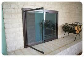 fireplace door glass replacement best fireplace door glass replacement types of doors