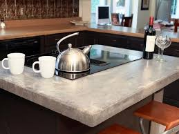 poured concrete countertop kitchen remodel ideas kitchen island countertop design