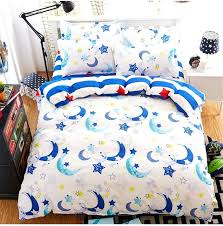 moon and stars duvet cover uk new fashion star moon queen full twin size bed linen