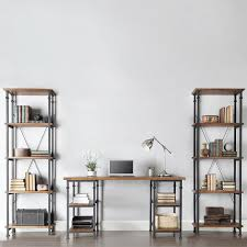 Industrial Pipe Coffee Table Cool Industrial Pipe Desk And Shelving