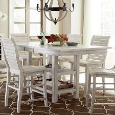 white counter height table. Willow Rectangular Counter Height Table (Distressed White) White Furniture Pick