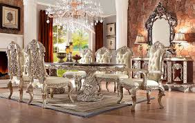 antique white dining table hd 017