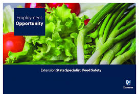 Food Safety Specialist Unh Extension Seeks A State Specialist In Food Safety Unh