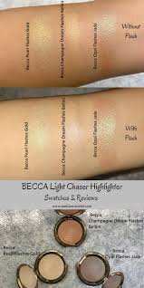 Becca Light Chaser Bellini Becca Light Chaser Highlighter Review And Swatch Becca