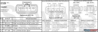 wiper motor wiring diagram ford wiring diagram libraries ford wiper motor wiring simple wiring schema1983 ford bronco tsbs u0026 fsas recalls