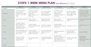 Weekly Meal Plan Custom 44 Day Fix Extreme Week 44 Meal Plan 44044 Tru Yoga Lifestyle