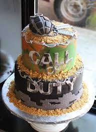 Call of Duty Groom s Cake Whipped Bakeshop