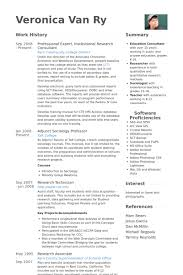 Research Consultant Resume Samples Visualcv Resume Samples Database