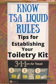 know tsa liquid rules pin liquid cosmetics