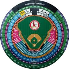 Two Busch Stadium Seating Charts