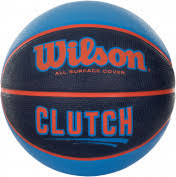 <b>Мяч баскетбольный Wilson Clutch</b> синий/оранжевый цвет ...